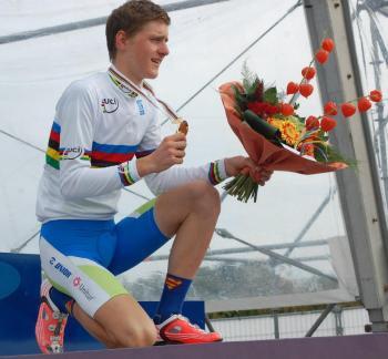 Matej Mohoric, double champion du monde