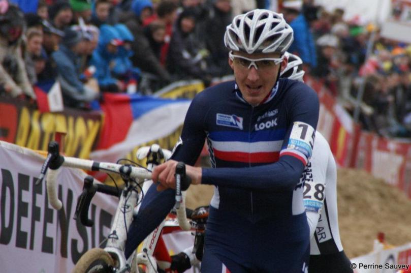 L'an dernier, à Koksijde, Kévin Bouvard portait les couleurs de l'Equipe de France / Perrine Sauvey