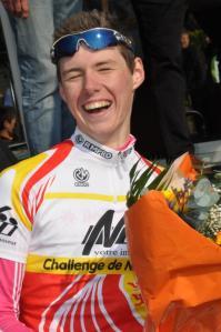 Visiblement, Jérémy Lecroq a la victoire souriante / Caroline Valognes