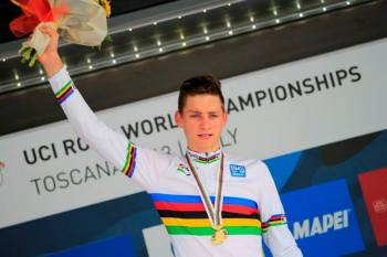 Mathieu Van der Poel, champion du monde Junior
