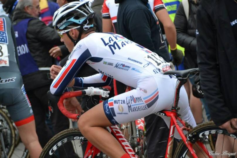 Corentin Navarro sous son nouveau maillot marseillais