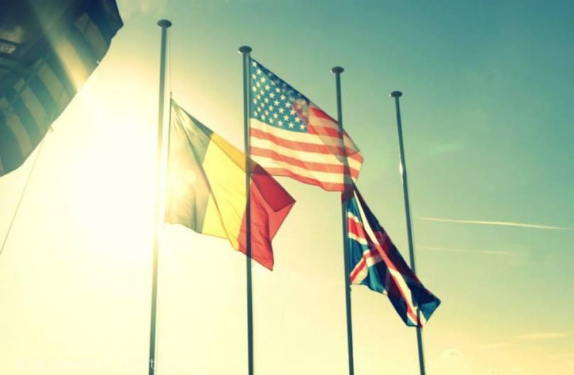 Les drapeaux flottent sur Koksijde