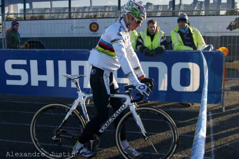 Sven Nys, champion du monde de cyclo-cross