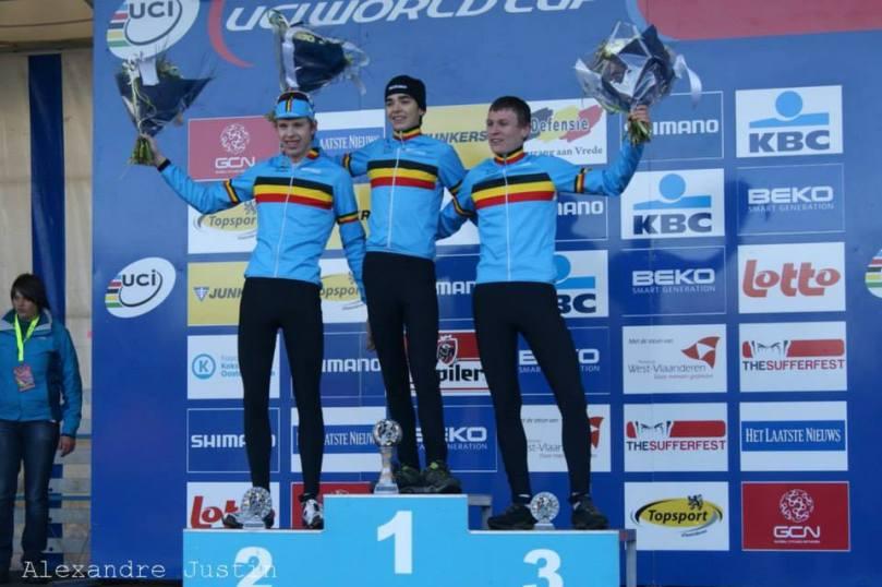 La Belgique aura dominé l'épreuve junior