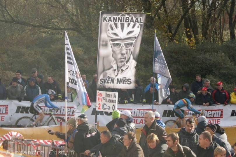 Les fans de Sven Nys étaient là. Le Kaannibaal termine 4e à Koksijde