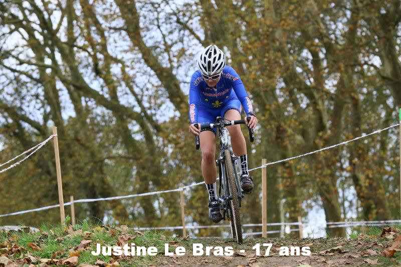 Justine Le Bras, poursuit l'aventure avec Argenteuil