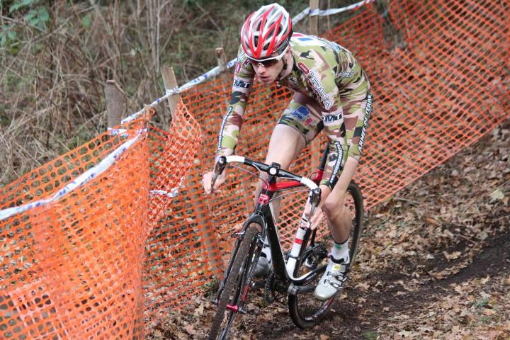 Kévin Lebreton est l'une des recrues de l'équipe cycliste de l'armée de terre