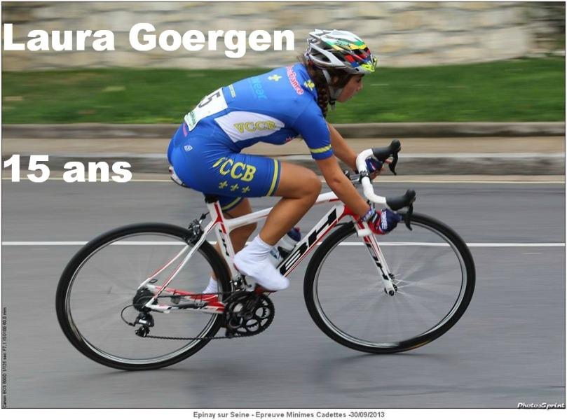 Laura Goergen sera la benjamine de la DN D'Argenteuil