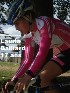 Laurie Baillard rejoint Argenteuil Val de Seine pour 2014