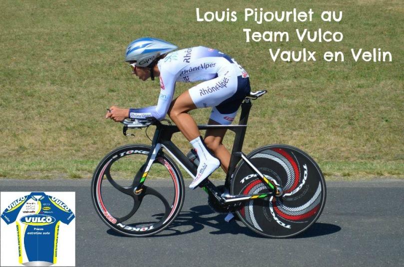 Louis Pijourlet rejoint le Team Vulco - Vaulx en Velin pour 2014