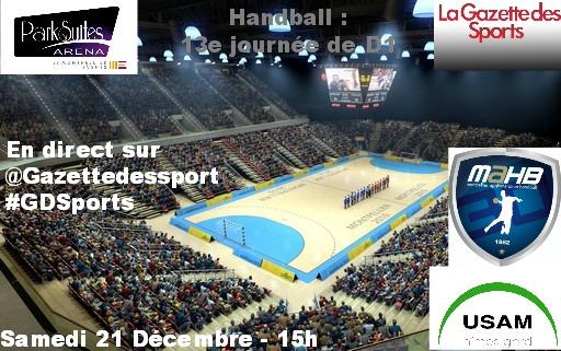 Derby entre Montpellier et Nîmes en handball