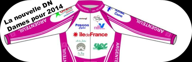 Argenteuil Val de Seine et son maillot rose  propose une équipe féminine.