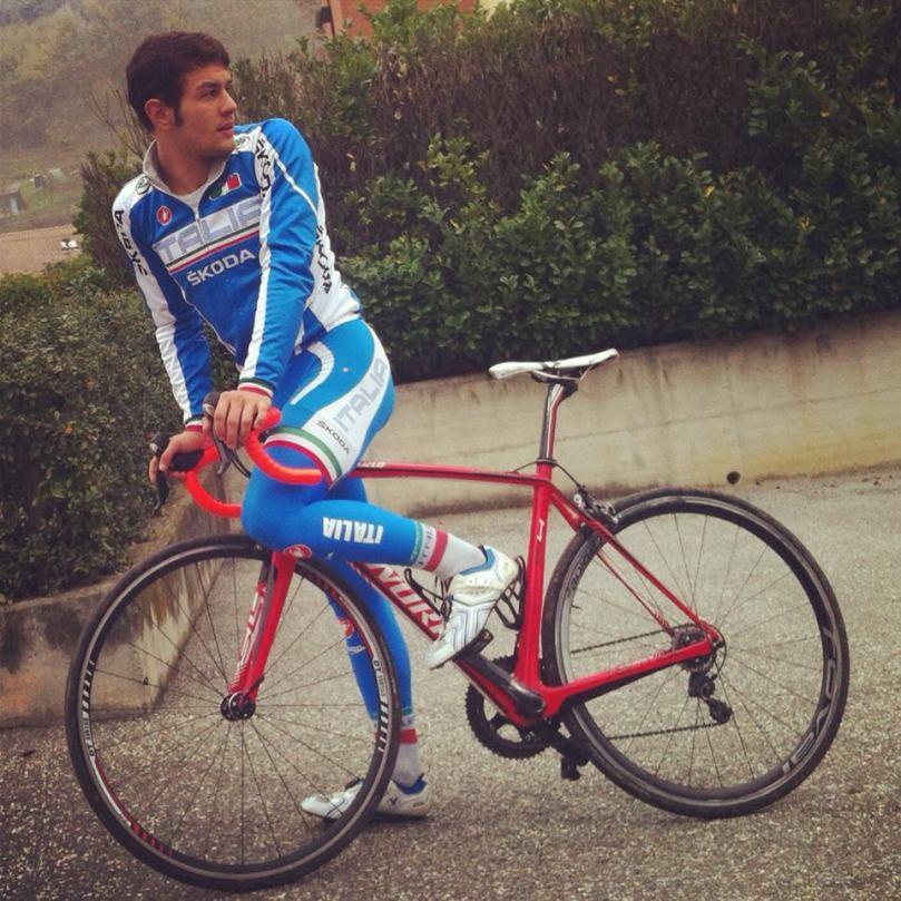 Mattia Viel un jeune cycliste italien qui rejoint Chambéry
