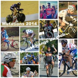 Mutations 2014 dans le cyclisme amateur