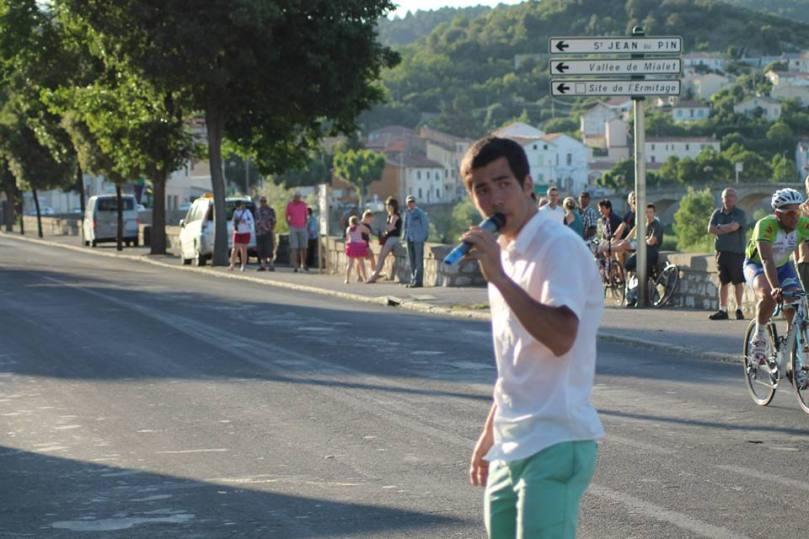 Nicolas Reverte speaker dans le Languedoc-Roussillon