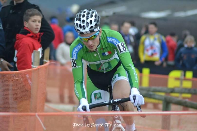Mathieu Morichon a été contraint à l'abandon lors des Championnats de France Espoirs de cyclo-cross