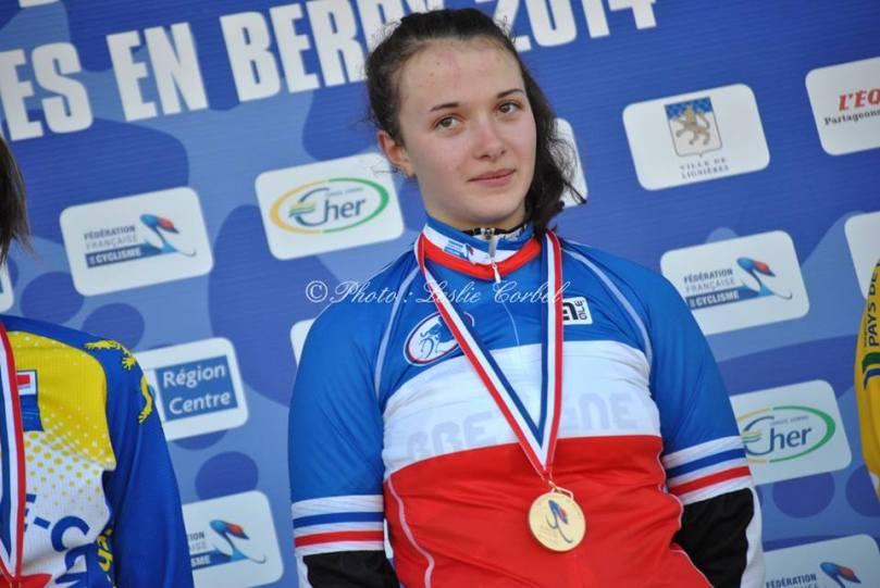 Emeline Gaultier sacrée championne de France