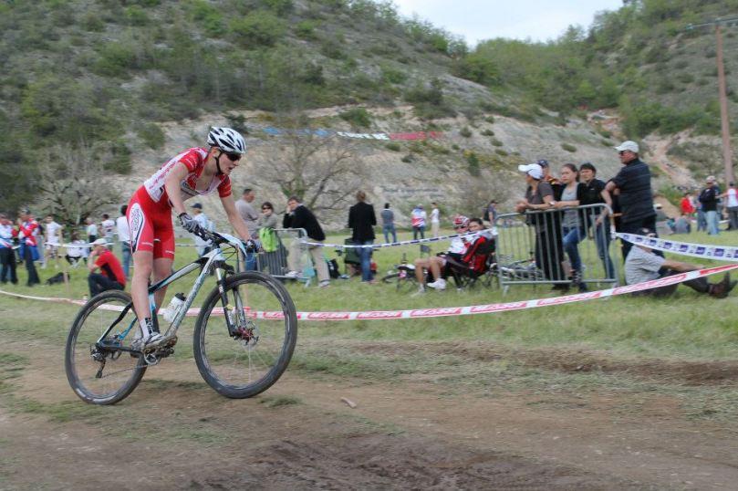 Hugo Pigeon défend le VéloRoc Lapierre