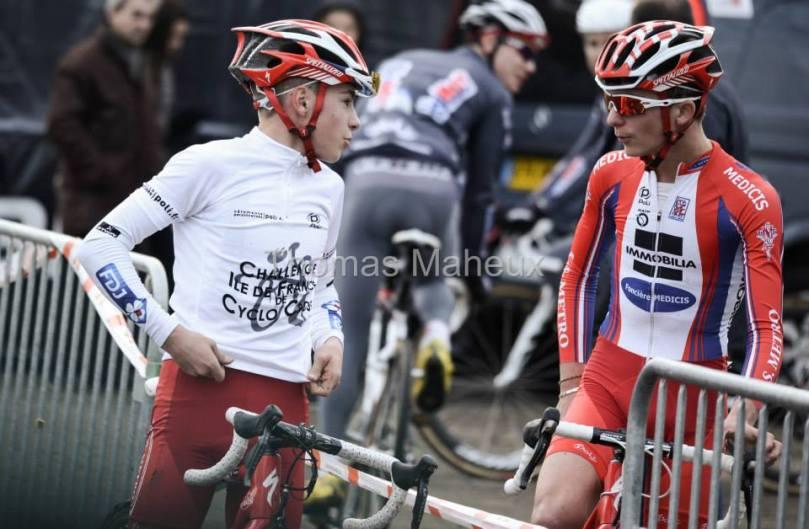 Tanguy Turgis & Matthieu Legrand se sont liés d'une grande amitié. Sur le vélo, les deux sont complémentaires.