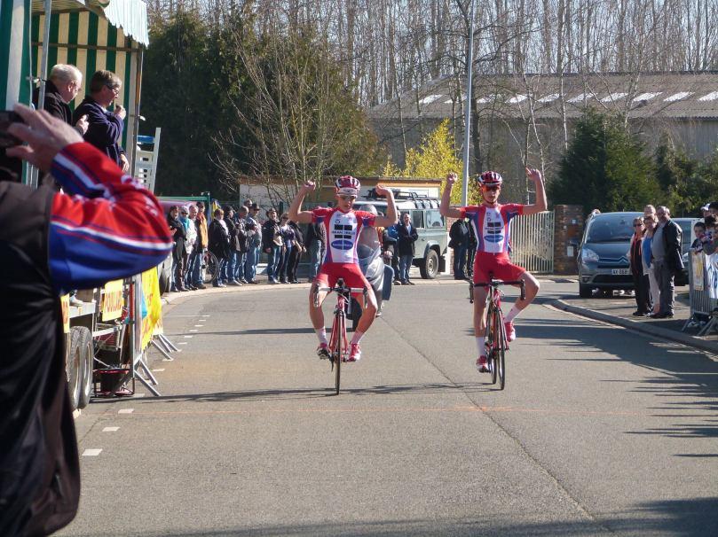 Tanguy Turgis (à gauche) et Matthieu Legrand signent un doublé d'entrée de saison / Sandrine Auffret