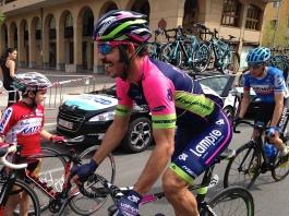 José Serpa (Lampre) encore et toujours sur un vélo !