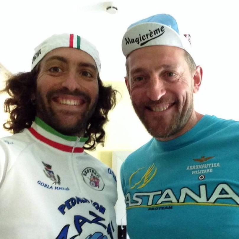 Barnabé en compagnie d'un certain... Stefano Zannini !