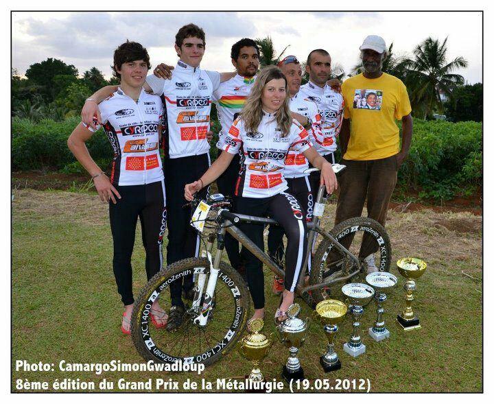 Il y a deux ans, Herold, Lopez, Sennoaj, Berto et Segrestan représentaient déjà le Calvisson VTT