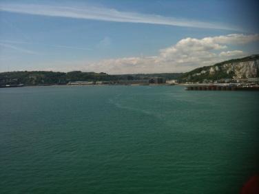 L'entrée dans le Port de Douvres