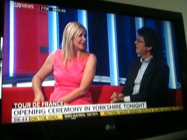 La télévision britannique à la veille de la présentation des équipes