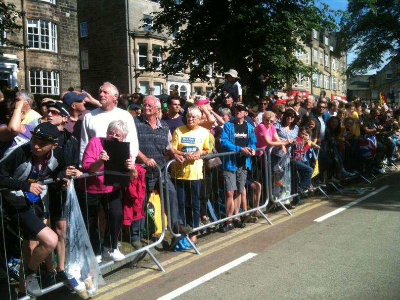 Une foule incroyable pour ce premier jour en Angleterre