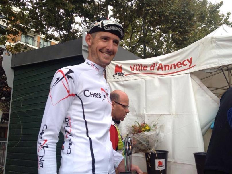 Nicolas a terminé 3e du GP d'Annecy en Toutes Catégories, début Septembre