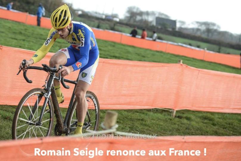 romain-seigle-renonce-championnats-de-france-cyclo-cross-pontchateau-forfait