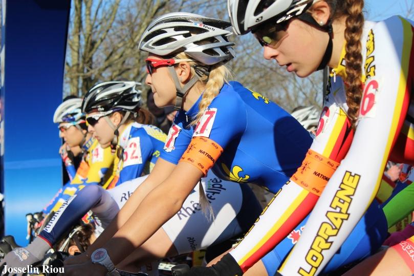 Ellie Croquison, Cléa D'hondt et les autres ont préparé leur France pour le finir à la maison / Josselin Riou