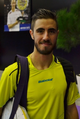 Maxime Teixeira, plus serein que lors de l'édition précédente de l'Open Sud de France / ©David Caro