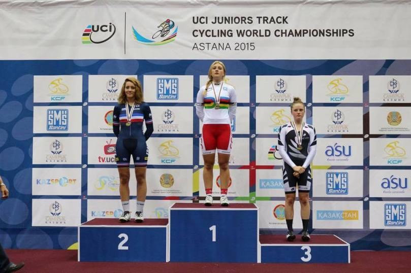 Marion Borras mondial Astana piste