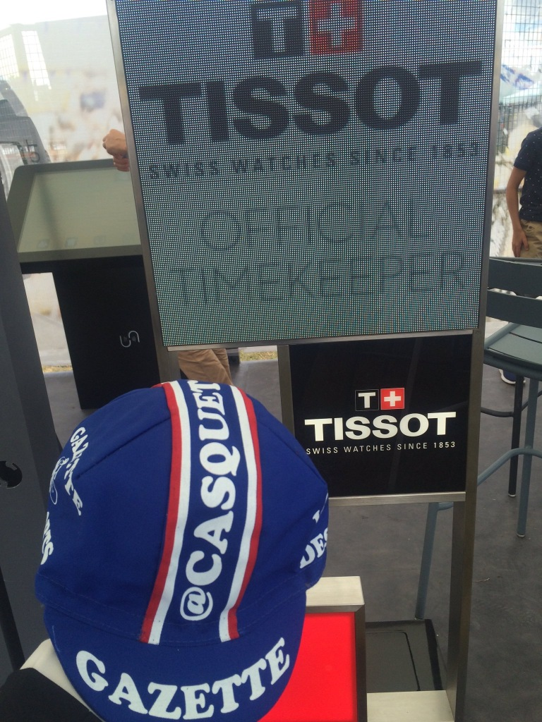 Tissot chronométreur officiel du Tour de France