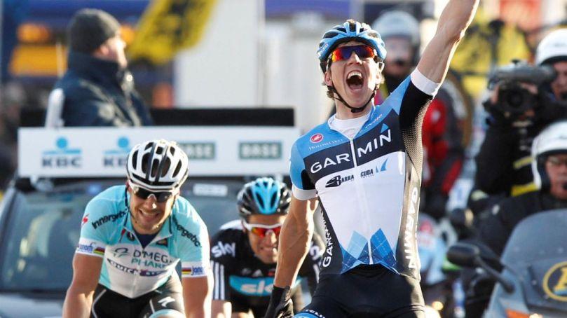 Sep Vanmarcke a déjà fait les beaux jours de Garmin en 2012