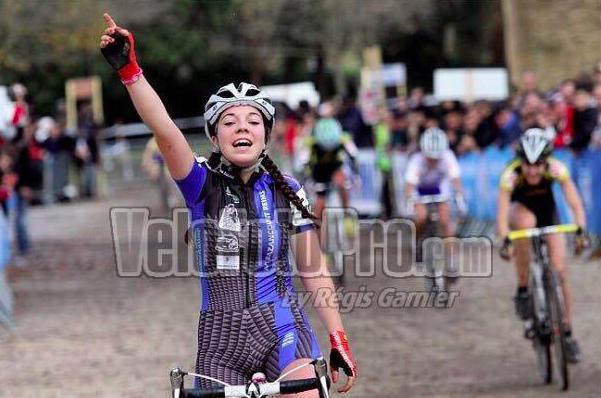 Axelle Dubau-Prévôt vainqueur du challenge national de cyclo-cross à Miramas